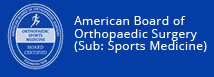 American Board of Orthopaedic Surgery Sports Medicine